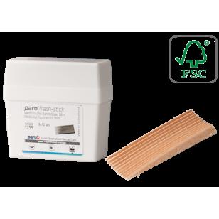 Scobitori medicinale din lemn Paro Fresh-Stick, mentolate, medium, 96 buc #1755