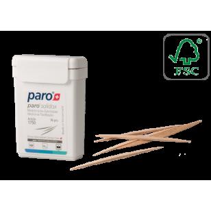 Scobitori medicinale din lemn Paro Solidox, medium, doua capete, 96 buc #1750